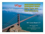 File #1 to be Downloaded - UCSF Radiation Oncology