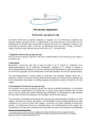 Opgørelse af kommunale og regionale valg - Grundejerforeningen ...