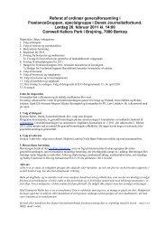 Referat af generalforamling 26. februar 2011 - FreelanceGruppen