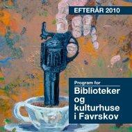 Biblioteker og kulturhuse i Favrskov - Favrskov bibliotekerne