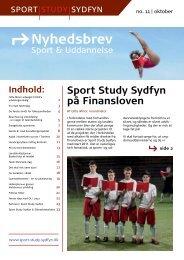 Nyhedsbrev - Sport Study Svendborg