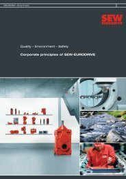 Corporate principles (PDF) - SEW-Eurodrive
