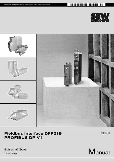DFP21B PROFIBUS DP-V1 Fieldbus Interface - SEW Eurodrive