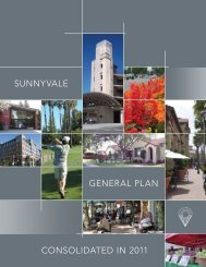 SUNNYVALE CONSOLIDATED IN 2011 GENERAL PLAN - City of ...