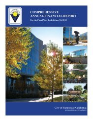 COMPREHENSIVE ANNUAL FINANCIAL REPORT - City of ...