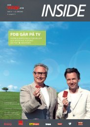 FDB går på TV - forum