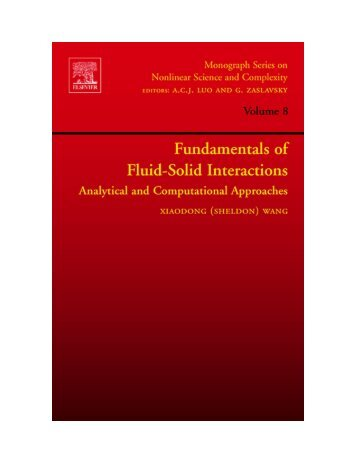 Fundamentals of Fluid-Solid Interactions-Analytical and