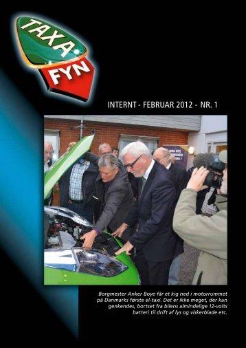 INTERNT - fEbRuaR 2012 - NR. 1 - Taxa Fyn