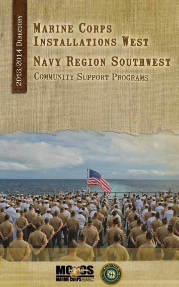 Southwest Region Phone Directory - NavyLifeSW.com