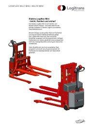 Elektro-Logiflex Mini - leicht, flexibel und sicher ... - Logitrans
