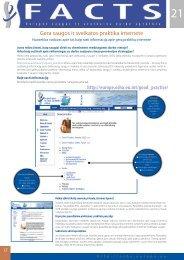 Gera saugos ir sveikatos praktika internete - European Agency for ...