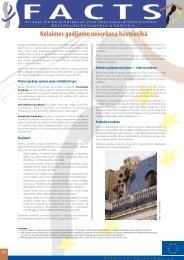 Nelaimes gadījumu novēršana būvniecībā - European Agency for ...
