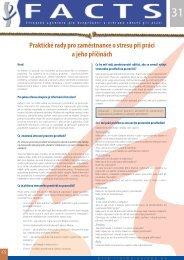 Praktické rady pro zaměstnance o stresu při práci a jeho ... - Europa