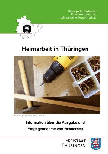 Heimarbeit in Thüringen - Europa