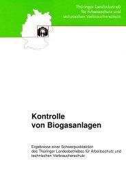 Kontrolle von Biogasanlagen