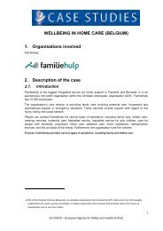 Familiehulp - European Agency for Safety and Health at Work