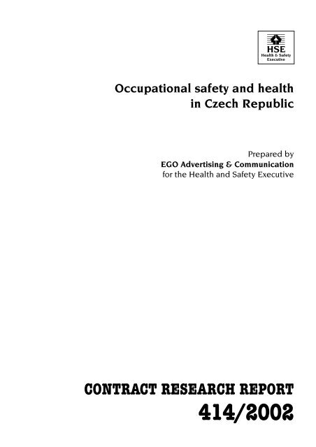 Occupational safety and health in Czech Republic - European ...