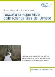 raccolta di esperienze dalle Aziende Ulss del Veneto - European ...