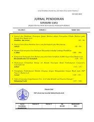 Jurnal Edisi Maret 2011 - Lembaga Penelitian - Universitas Serambi ...