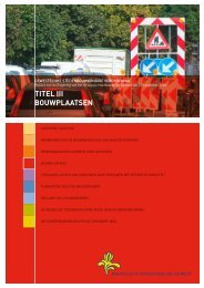 titel iii bouwplaatsen - Ruimtelijke Ordening en Stedenbouw in het ...