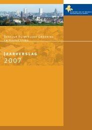 Jaarverslag 2007 - Ruimtelijke Ordening en Stedenbouw in het ...