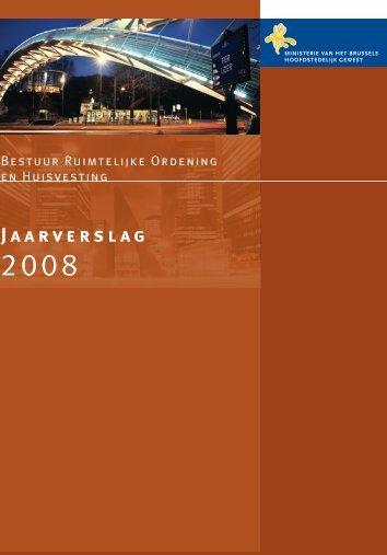 Jaarverslag 2008 - Ruimtelijke Ordening en Stedenbouw in het ...