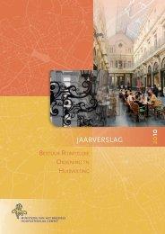 Jaarverslag 2010 - Ruimtelijke Ordening en Stedenbouw in het ...