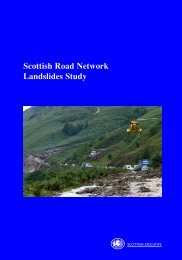 Scottish Road Network Landslides Study - University of Glasgow