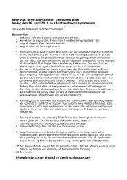 Referat af generalforsamling 16/04 2010 - Foreningen Ethiopiens Børn