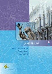 Jaarverslag 2009 - Ruimtelijke Ordening en Stedenbouw in het ...
