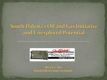 Derric L. Iles South Dakota State Geologist - South Dakota School of ...