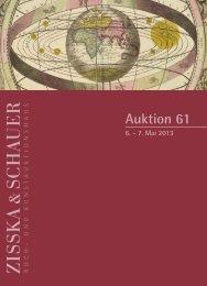 Katalog 61 - Zisska+Schauer