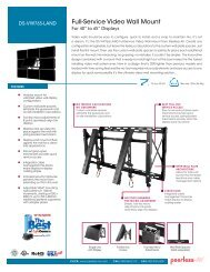 Full-Service Video Wall Mount - Peerless-AV