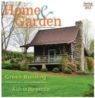 Green Building Kids in the garden - VillageSoup