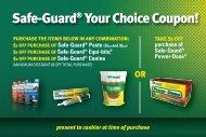 Safe-Guard® Your Choice Coupon! - VillageSoup