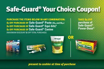 Safe-Guard® Your Choice Coupon! - VillageSoup