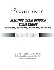 Electric Chain Griddle ECGM.indd - Parts Town