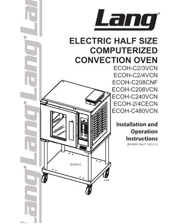 lang electric half size computerized convection oven parts town?quality\\\=85 sunfire sdg 1 wiring diagram sunfire convection oven parts  at soozxer.org