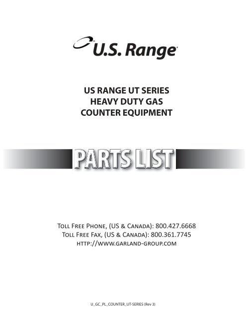 US RANGE Broiler Radiant 222024