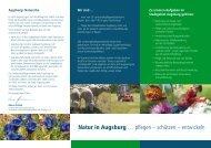 Flyer Landschaftspflegeverband Stadt Augsburg - WassErLeben ...