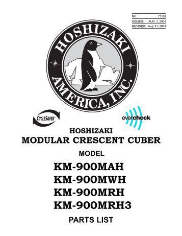 hoshizaki km 515 mwh service manual