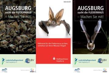 AUGSBURG sucht die FLEDERMAUS - Lpv-augsburg.de