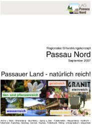 REK Passau Nord_Langfassung.pdf - Landkreis Passau