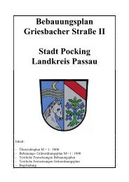 610-3-74 TF Griesbacher Straße II.pdf - Landkreis Passau