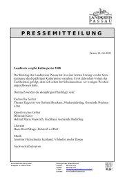 Billinger Billinger - Landkreis Passau