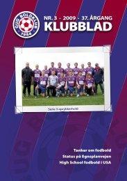 klubblad 3 / 2009 - Gug Boldklub
