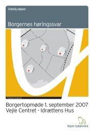 Region Syddanmark, borgernes høringssvar - Teknologirådet