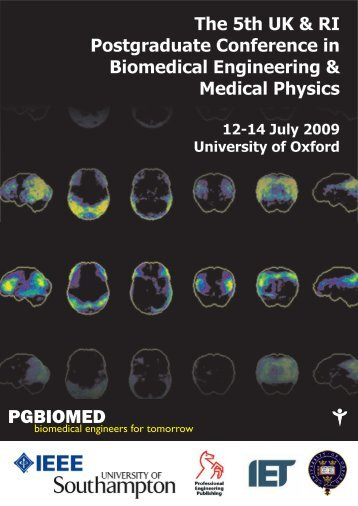 Proceedings of PGBIOMED09 July 2009 - OpenWetWare