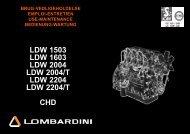 Instruktionsbog CHD LDW 1503 - 1603 - 2004 ... - Henrik A Fog A/S