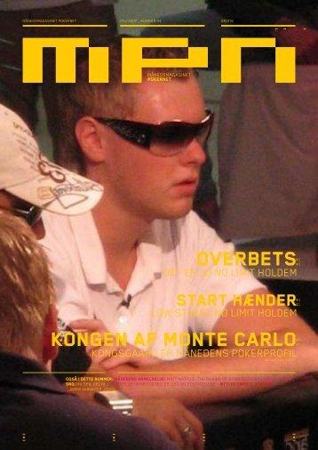koNgeN af moNte carlo oVerBets - Pokernet.dk